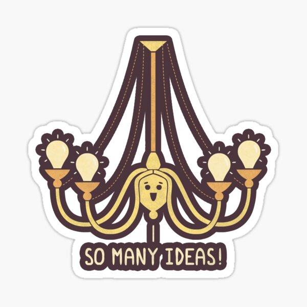 Full Of Ideas Sticker