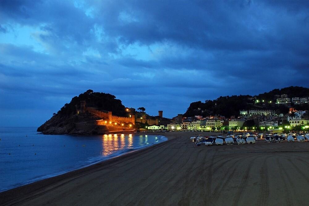 Tossa de Mar - Spain by Arie Koene