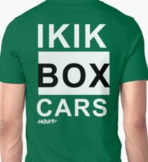 IKIKBOXCARS (inverted) Unisex T-Shirt
