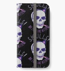 Skulls and Kittens iPhone Wallet/Case/Skin