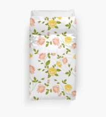 Roses, floral background, seamless pattern. Bettbezug