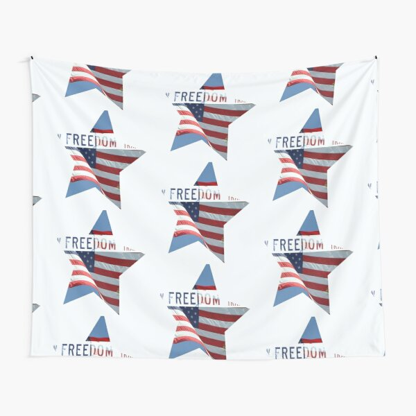 Freedom Star Tapestry