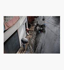 Regen in Caracas Photographic Print