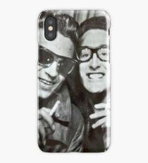Buddy Holly and Waylon Jennings iPhone Case/Skin