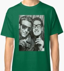 Buddy Holly and Waylon Jennings Classic T-Shirt