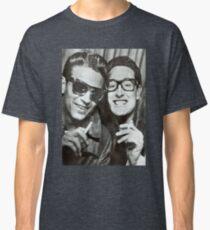 Buddy Holly and Waylon Jennings Classic T-Shirt