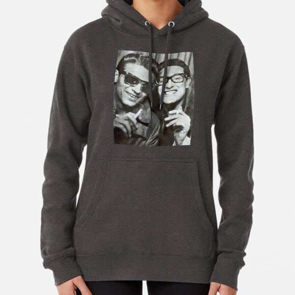 Buddy Holly and Waylon Jennings Pullover Hoodie