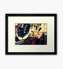 Back to the 70s Framed Print