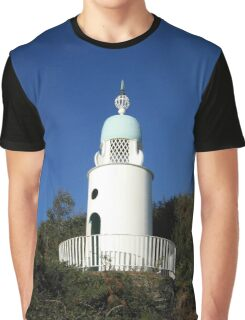 Y Goleudy Portmeirion Lighthouse Graphic T-Shirt