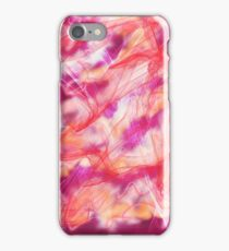 magenta nebula iPhone Case/Skin