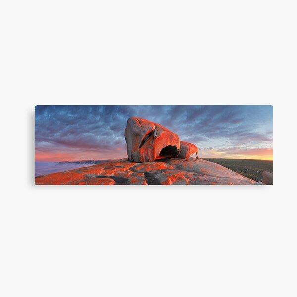Remarkable Rocks Sunrise, Kangaroo Island, South Australia Metal Print