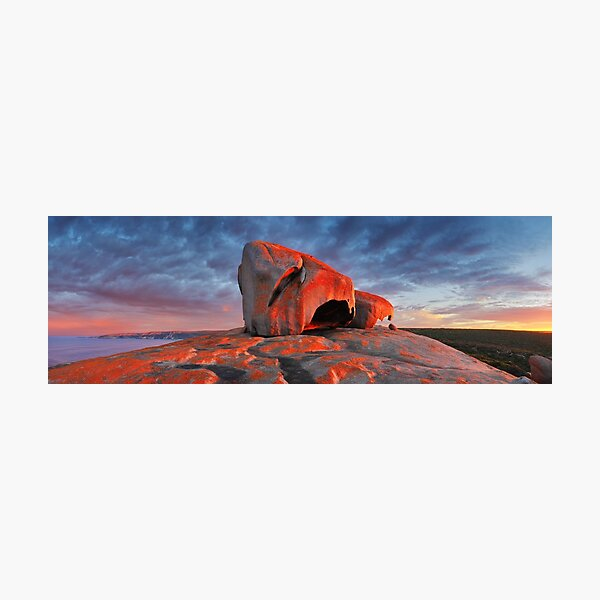 Remarkable Rocks Sunrise, Kangaroo Island, South Australia Photographic Print