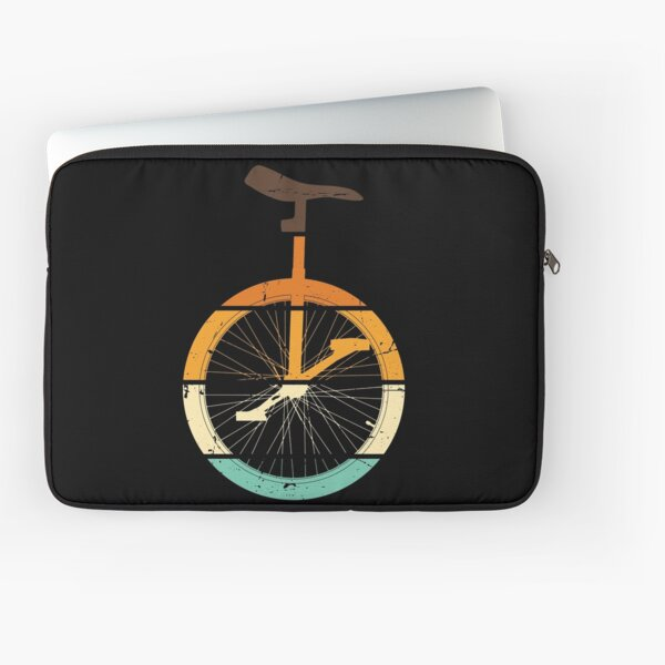 Vintage Unicycle Cycling Unicyclist Unicycling Laptop Sleeve