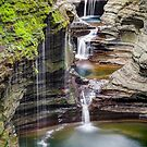 Rainbow Falls and the Triple Cascade by Kenneth Keifer
