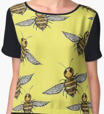 Bumble Bees   Chiffon Top