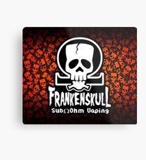 Frankenskull C Metal Print