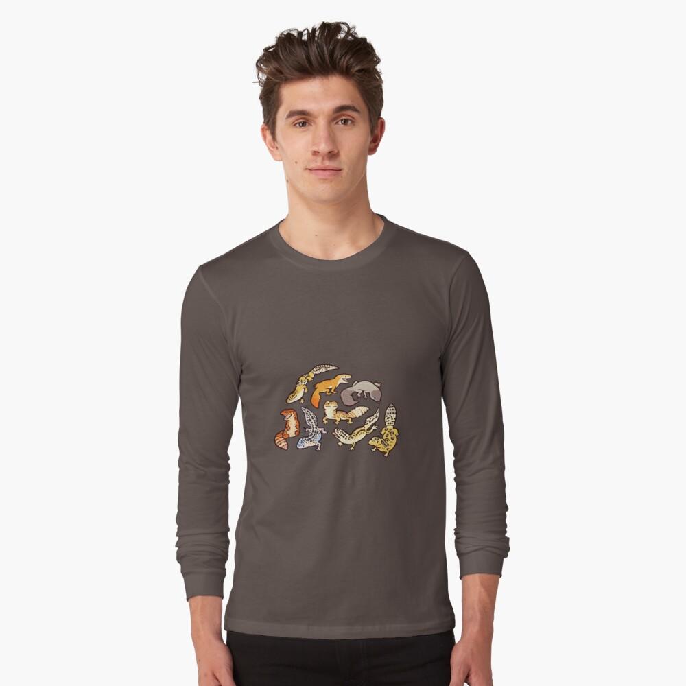chub gecko babies Long Sleeve T-Shirt