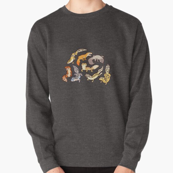 chub gecko babies Pullover Sweatshirt