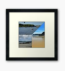 A Western Isles Collage Framed Print
