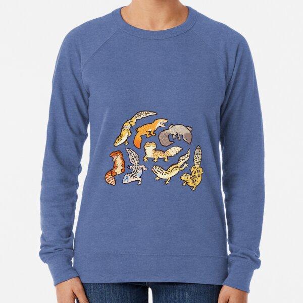 chub geckos in blue Lightweight Sweatshirt