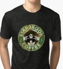Starbrook Coffee Grunge Tri-blend T-Shirt