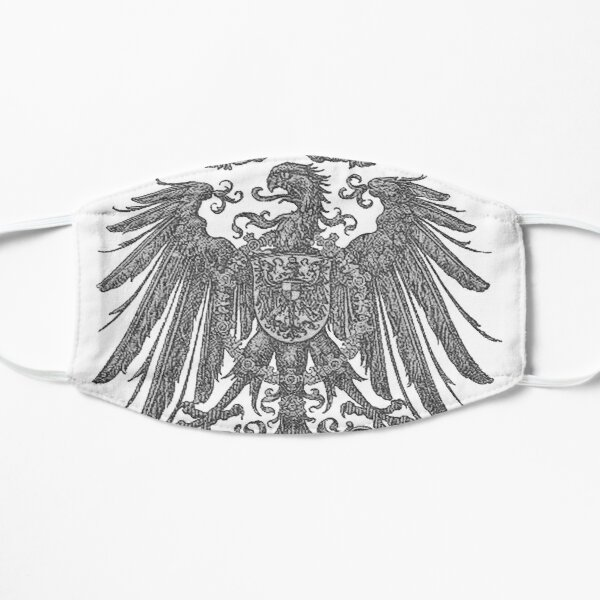 German Imperial Eagle,.. era of 1888 to 1918 Flat Mask