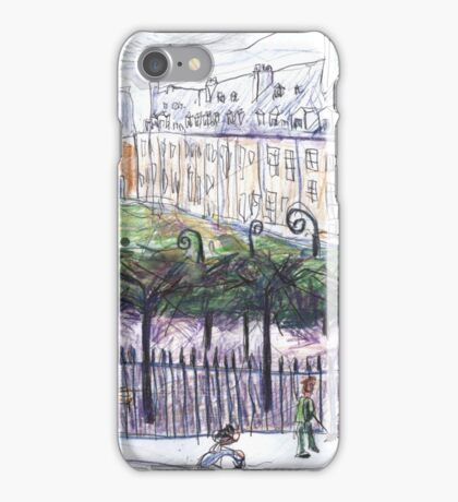 Place des Vosges from Number 23 iPhone Case/Skin
