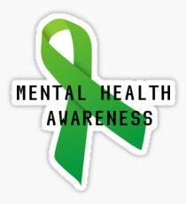 Pegatina Conciencia de salud mental