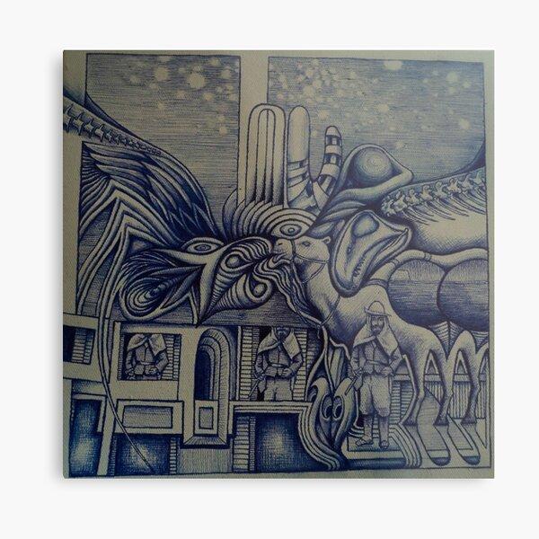 Ernst Stromer Metal Print