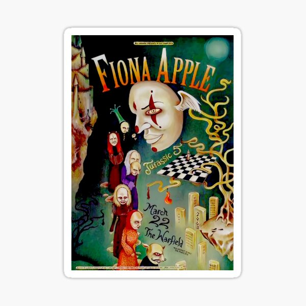 fiona-apple-poster Sticker