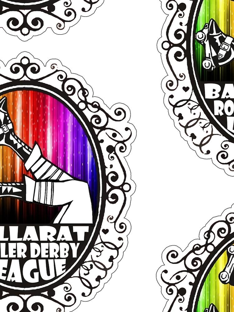 BRDL Rainbow Logo - Clothing, Pillows & Phone Wallet by BRDL