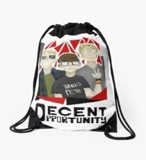 Decent Opportunity Unofficial Merchandise Drawstring Bag