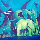 Blue dream.  by Tatyana Binovskaya