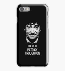 Dr. Who Patrick Troughton iPhone Case/Skin