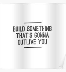 Build Something Poster