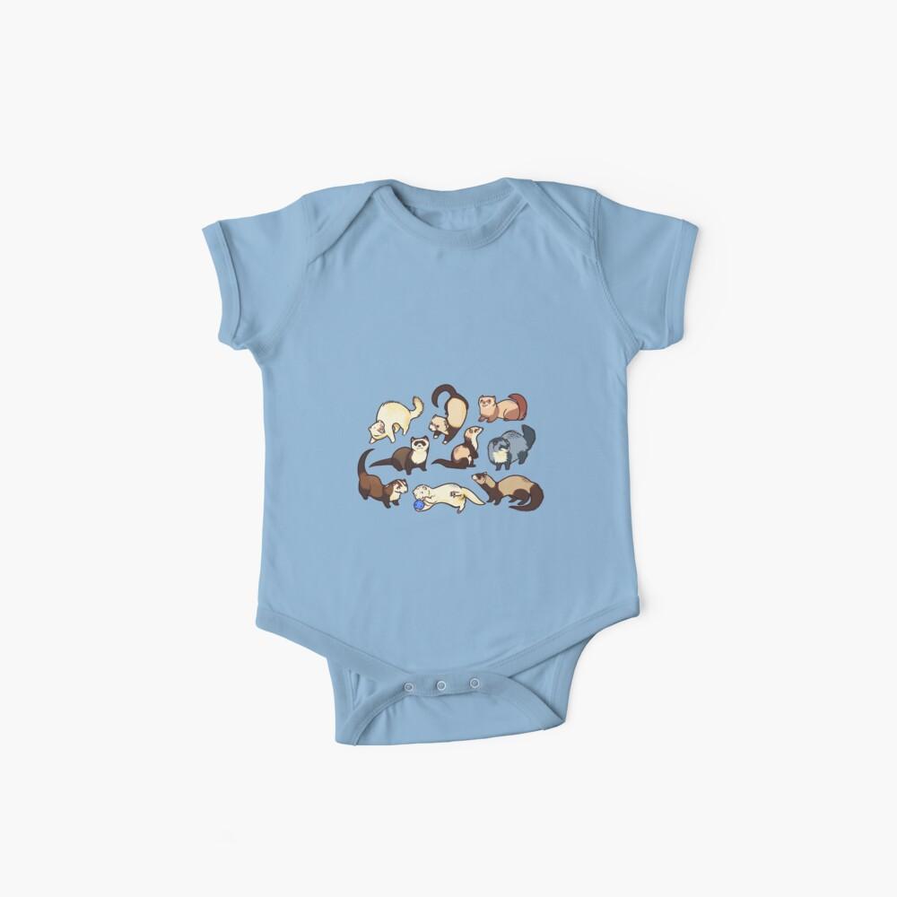 Katzenschlangen in blau Baby Bodys