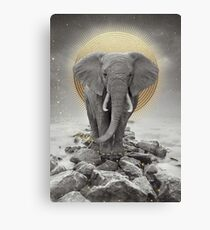 Strength & Courage (Stay Gold) Canvas Print