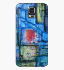 Funda/vinilo para Samsung Galaxy Puesta de sol abstraída