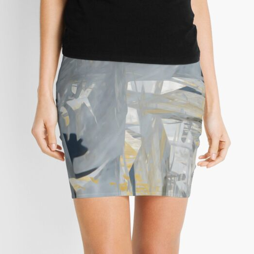 Broad Strokes in Sintra Mini Skirt