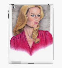 Gillian Anderson Portrait iPad Case/Skin
