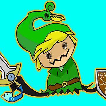Zelda Mimikyu by xcharls1