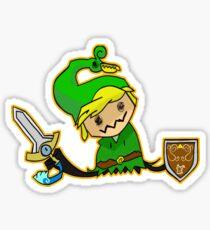 Zelda Mimikyu Sticker