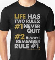 Rules of Life T-shirt & Homewares Unisex T-Shirt