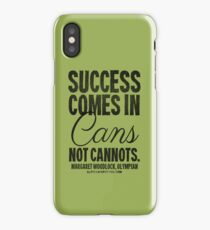 Canned Success Black Text T-shirts & Homewares iPhone Case
