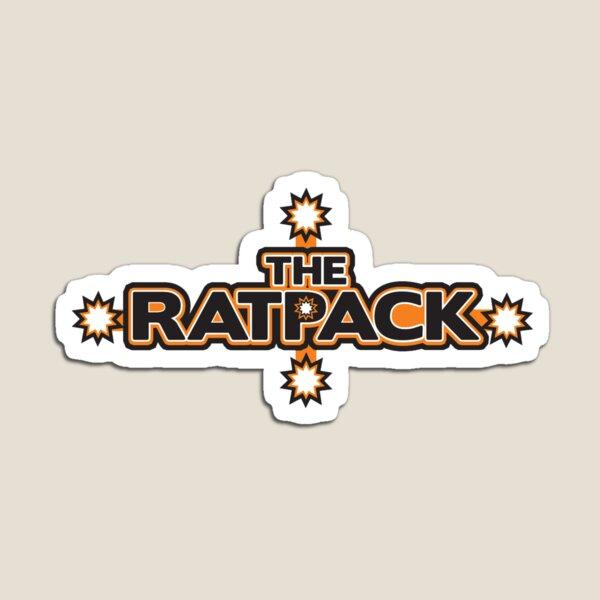 "BRDL ""The Rat Pack"" Logo - Clothing, Pillows & Mugs Magnet"
