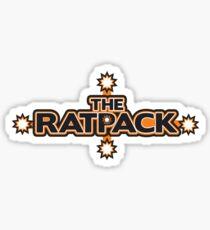 "BRDL ""The Rat Pack"" Logo - Clothing, Pillows & Mugs Sticker"