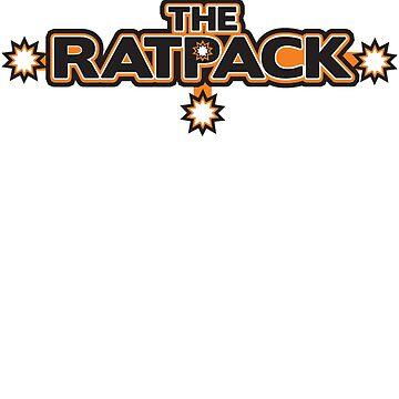 "BRDL ""The Rat Pack"" Logo - Clothing, Pillows & Mugs by BRDL"