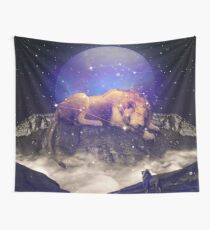 Under the Stars III (Leo Constellation) Wall Tapestry