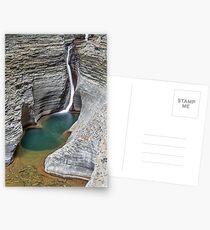Pluto Falls at Watkins Glen Postcards