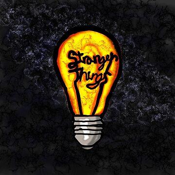 Stranger Things- Light Bulb by AudrieB